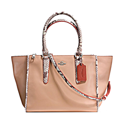 Coach  Exotic tirm crossbody carryall from Bicester Village