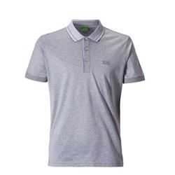Polo basic gris Boss Hugo Boss