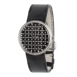 TAG Heuer - Black Dior diamond watch