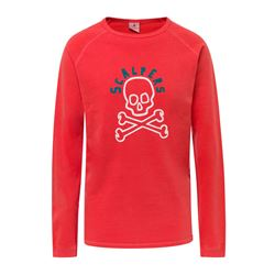 Sweat-shirt corail logo