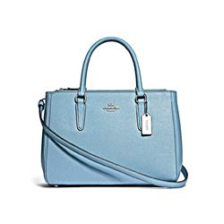Coach Women's Leather Surrey Carryall