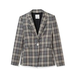Pinko, grey checked jacket