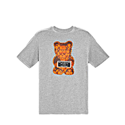 'Gummy Bear Tee' Herren T-shirt in Grau von Coach in Ingolstadt Village