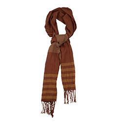Sarar - Brown men's scarf