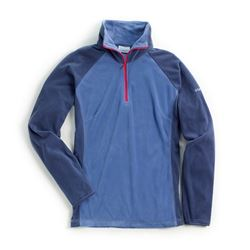 ArUc Air Fleece women in color bluebell with ruby zip