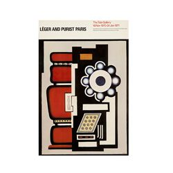 TATE  Fernand Léger: Léger and Purist Paris 1970 vintage poster from Bicester Village