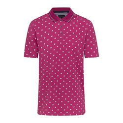 Fuchsia polo shirt
