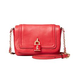 Juicy Couture red satchel bag