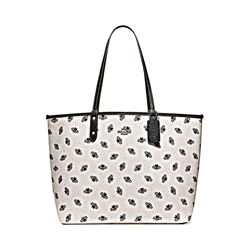 Coach Bee Print Reversible City Tote