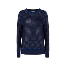 Michael Kors Men's Navy Mesh Sweater