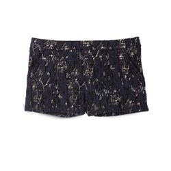 Ba&sh, Blue and black Ethan shorts