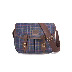 Barbour Men's tweed tarras bag
