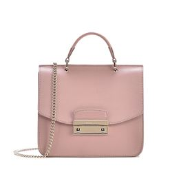 Bag in rose by Furla at Wertheim Village