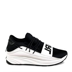 Sneaker 'Karl' in black/white by Karl Lagerfeld at Wertheim Village