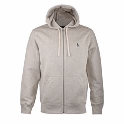 Men's Light Grey Heather Hoodie