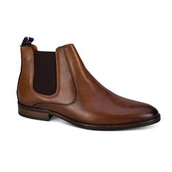 Men's chelsea boots in brown by Tommy Hilfiger at Ingolstadt Village