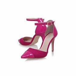 Kurt Geiger Kayote pink court shoes