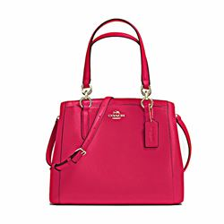 Coach Crossgrain leather Minetta