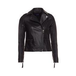 Karl Lagerfeld  Leather biker from Bicester Village