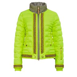 Women's jacket in yellow