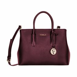 Furla Tessa small tote in saffino leather