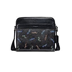 Coach Charles Camera Bag Logo Car Print