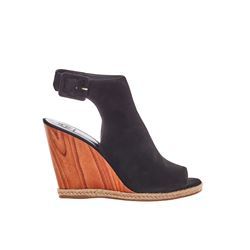 Tory Burch Black Raya wedges from Bicester Village