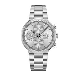 Mido Watch in silver by Hour Passion at Wertheim Village