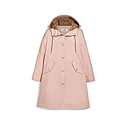 Coach Women's Raincoat with Signature Lining