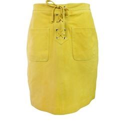 Skirt in yellow by SET at Ingolstadt Village