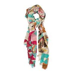 Tous - Light coloured printed scarf