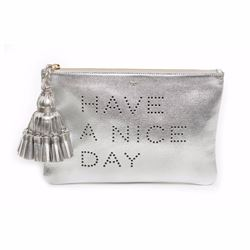 Anya Hindmarch Have A Nice Day Georgiana clutch