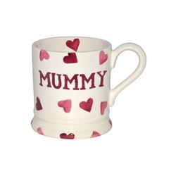 Emma Bridgewater  Pink hearts mummy mug from Bicester Village
