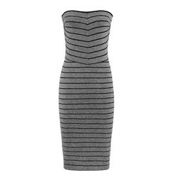 Kym Metallic Bandage Dress