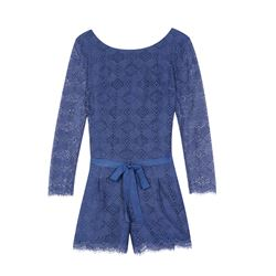 Juicy Couture  Bardot lace romper from Bicester Village