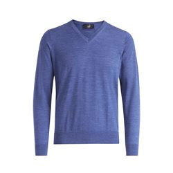 dunhill  V neck mid blue from Bicester Village
