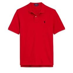 Men's polo shirt in red by Polo Ralph Lauren at Ingolstadt Village