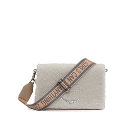 Zadig & Voltaire, Sac Lolita shearling beige