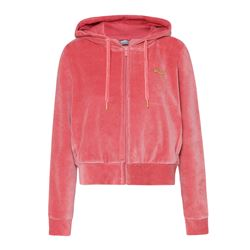 Sweat-shirt corail velours