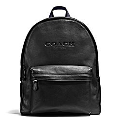 Coach black Charles backpack