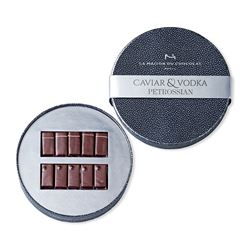 Caviar & Vodka Petrossian box, La Maison Du Chocolat