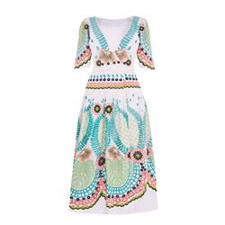 Temperley London Arabella wrap dress at Bicester Village