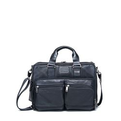 Briefcase 'Bingham' in Black by Tumi at Wertheim Village