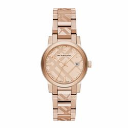 Watch Station Burberry rose gold watch