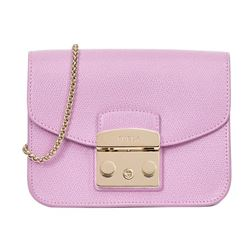 Furla Pink Bella Mini Crossbody