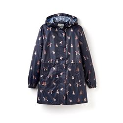 Dog Print Raincoat