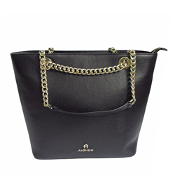 Aigner Shopper 'Amy' in schwarz Wertheim Village