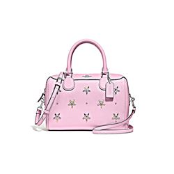 Coach Women's Tulip All Over Studs Mini Bennett Satchel