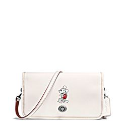 Damen-Handtasche 'Mickey Leather Penny Crossbody' in Weiss von Coach in Wertheim Village