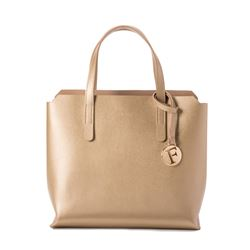 Tote 'Sally' in gold by Furla at Ingolstadt Village